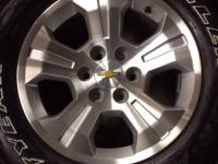 These are new 2014 Chevy remove. Chevy GMC Six lug bolt