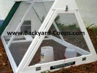 Chicken coops and tractors! Highest quality built