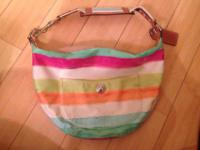 I have 1 brand-new Coach Watercolor hobo bag/purse.