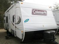 I have a 2013 Caoleman 27' Travel Trailer w/Bunk Beds