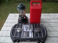 CL 2 Dual Fuel Lantern like new with case,  Propane