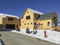 New construction home with a perfect floor plan