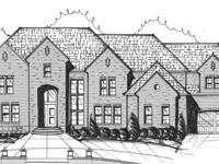 New Construction custom home-painted brick w/ stone