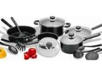 NEW COOK N HOME NON STICK COOKWARE 15 PC. IF INTERESTED