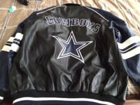 NEW Cowboys Jacket Size Lrg; $90 OBO;  This ad was