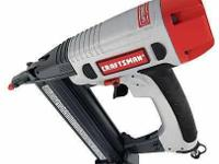 New Craftsman 18 Gauge Combination Nailer / Stapler