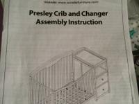 Brand new never used crib for sale Moving out of the