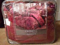 Brand New Croscill Madrid King Comforter Set 1 King
