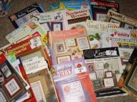 Brand New Cross Stitch Books. Over 50 different book