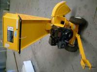 "NEW,NEVER USED CUB CADET 2"" CHIPPER SHREDDER.9HP GAS"