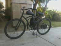 We custom build motorized bicycles any way you want