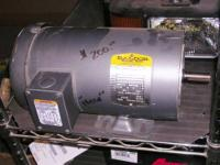 New Custom Built Baldor Motor. SN: F0402110116, Spec.#: