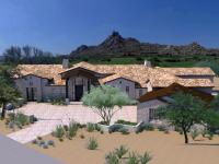 New Custom home under construction in the