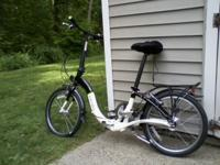 Bike is a 20 inch, 7 speed folding bike. It is brand