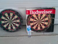 "this is a collectors dream  ""Budweiser Dartboard"""