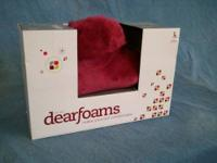 Dearfoams Womens Large Slippers 9-10. These slippers
