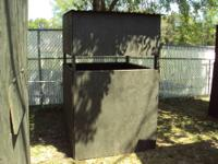 New deer stands for sale. These stands are construced
