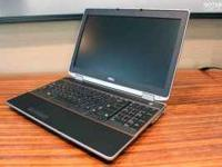 Nib Dell Latitude E6520 Laptop for sale!! Dell Latitude