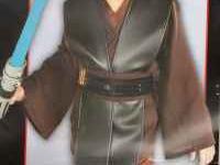 New Anakin Skywalker Deluxe Size Sm 4-6 $20 Obi -Wan