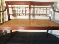 PRODUCT INFORMATION Made of: frame, mahogany; seat,