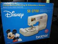 New Disney Sewing Embroidery Machine Fdl For In Madison Wisconsin Clified Americanlisted