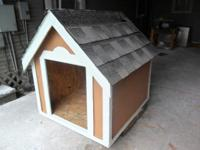 new dog houses forsale 32''x36''$ 100---32''x46'' $ 120