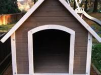 Bought this dog house last summer, but never used since