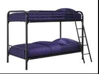 I'm selling a new twin over twin metal bunk bed, still
