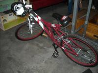 New 26in Dr. Pepper collectors hill bike features