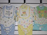 New Dulce infant brand clothes 4pc/set and for 3 sets