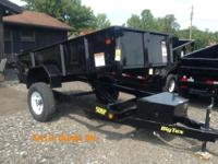 MOUNTAINEER TRAILER SALES is offering BRAND NEW DUMP