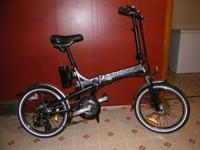 The e-Moto Traveler 2.0 Electric Assist folding bike