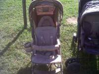 This is a eddie bauer stroller it is in new condition !