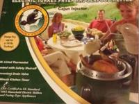 New Electric Turkey Fryer -- I have a new in box NWTF