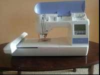 Bro PE770 5x7 inch Embroidery-only machine with