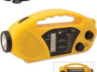 NEW EMERGENCY ALTERNATE ENERGY RADIO, FLASHLIGHT AND
