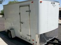 2015 LOOK cargo trailer- new- all electrical towing