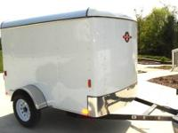 5x8 Enclosed Cargo Trailer Single Door $1,650 plus Tax