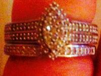 Brand New, never worn... Engagement Ring & Matching