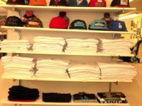 New Era, Snapback and pro 5 shirts.  Several different