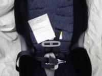 New Car Seat with paperwork included. This seat has
