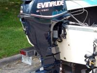 New EVINRUDE hasn't even been in the water... 100% of