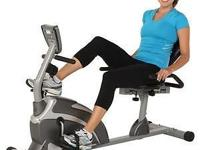 Hey there i am selling a NEW exerpeutic recumbent bike