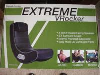 NEW IN BOX SOUND ROCKER EXTREME VROCKER 4 INCH FORWORD
