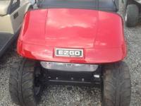 New Ezgo gas and electric golf carts don't miss out on