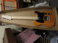 New blond wood finish fender squire tele $75.00 for