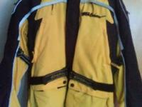 NEW Yellow/Black Fieldsport Jacket New with tags,