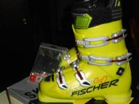 These boots are brand new in the box from Fischer.