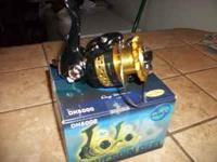 BRAND NEW IN THE BOX WAVE SPIN FISHING REELS, DH5000.