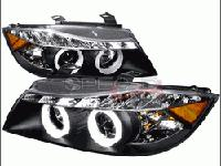 New! For Sale E90 3Series R8 Projector Headlights Black